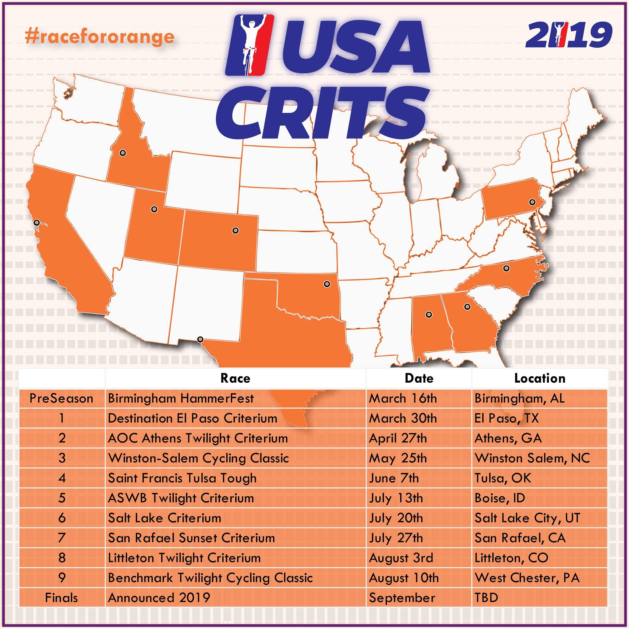 USA Crits Map 1